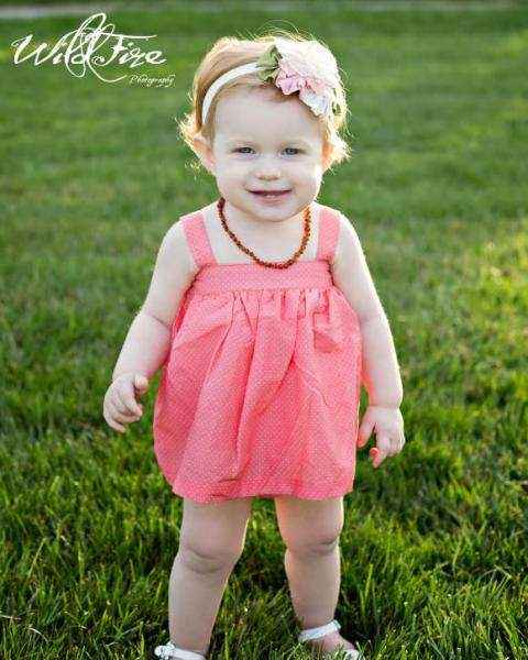 Heirloom Flower Baby and Girls Headband (American Made)