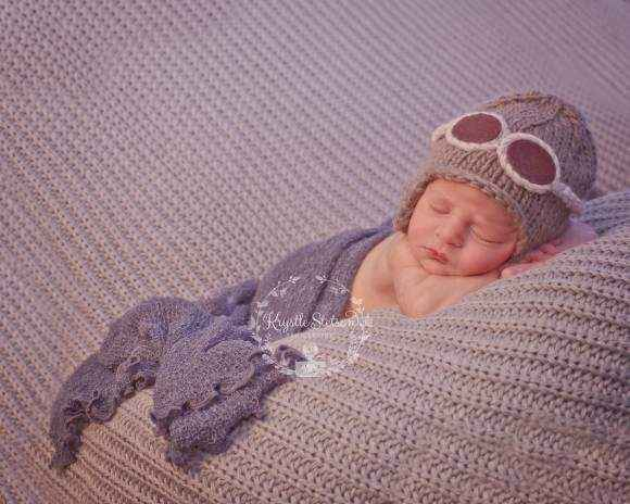Aviator Baby & Kids Knit Hat