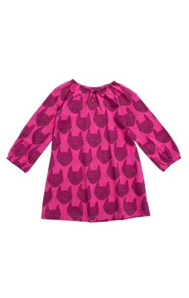 Kitty Cat Print Long Sleeve Blouse & Leggings Baby Girl Two Piece Outfit Set