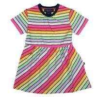 Colette Short Sleeve Baby and Toddler Girls Dress and Bloomer 2 Piece Outfit Set