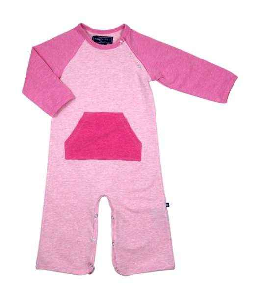 Sally Pink Long Sleeve Baby Girl Jumpsuit & One Piece Pajamas