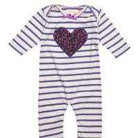 Heart Long-sleeved Romper - ONLY ONE LEFT: size 6-12 months!