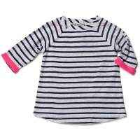 Striped Raglan Sleeve Jersey Tunic - ONLY THREE LEFT!