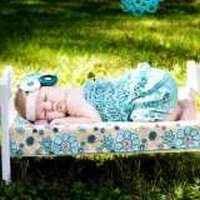 Aqua Toddler Girls Lace Ruffle Petti Romper