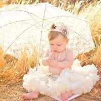 Cream Newborn and Baby Pettiskirt