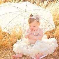 Cream Chiffon Baby Girl Boutique Pettiskirt