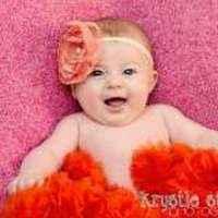 Raspberry and Orange Chiffon Baby Girl Boutique Pettiskirt
