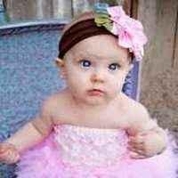 Pink Baby Girl Lace Ruffle Petti Romper