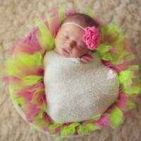 Pink Lemonade Newborn, Baby and Girl's Tutu