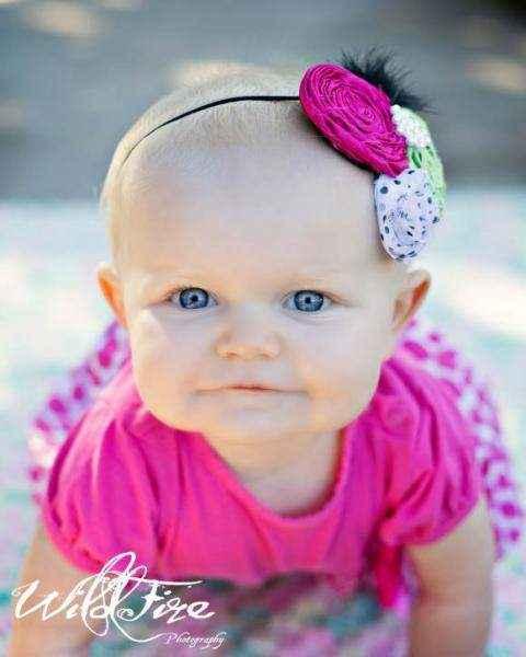Ursula Baby Girl Headband (American Made)