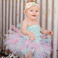 Birthday Fluffy Tulle Girls Boutique Tutu (American Made)