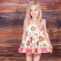 Fiorito Dress Bloomer Romper