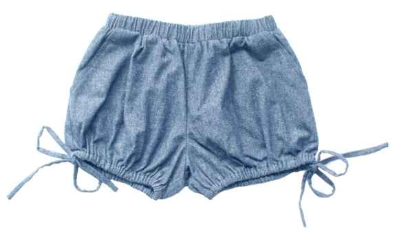 Josephine Little Girls Chambray Shorts