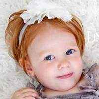 Alexandra Elegant Child and Infant Headband
