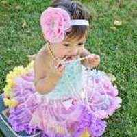 Confetti Chiffon Baby and Girls Boutique Pettiskirt
