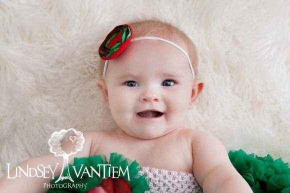 Christmas Headband For Baby Girl.Christmas Baby Headband Lemonade Couture