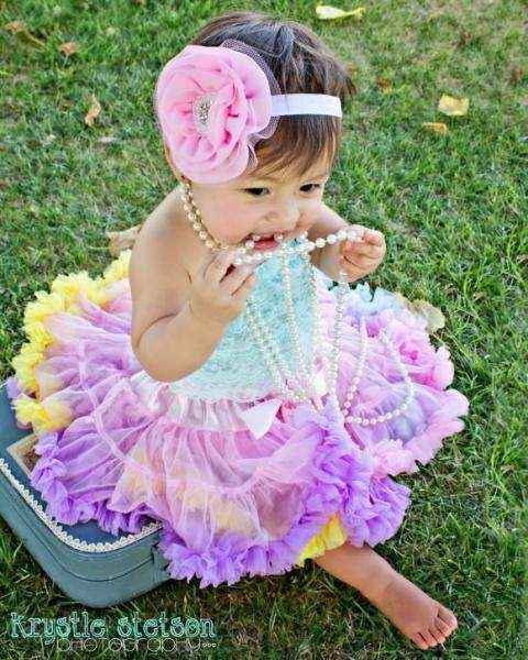 Confetti Chiffon Baby & Girls Boutique Pettiskirt