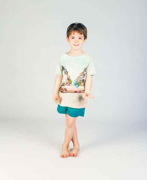 Too Cool Short Sleeve Big Boys T Shirt (Organic Cotton)
