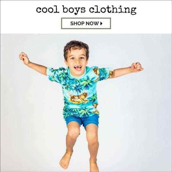 Cool Fun Boys Trendy Boutique Shirts Apparel