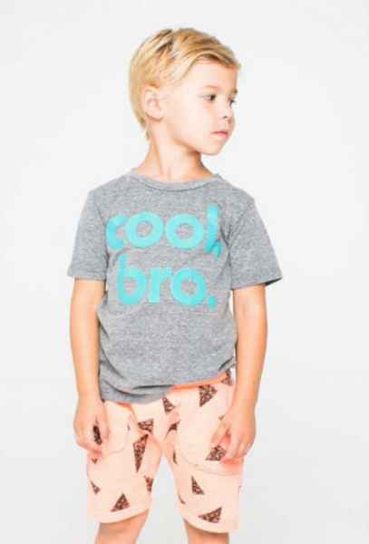 Cool Bro Short Sleeve Boys T Shirt (American Made)