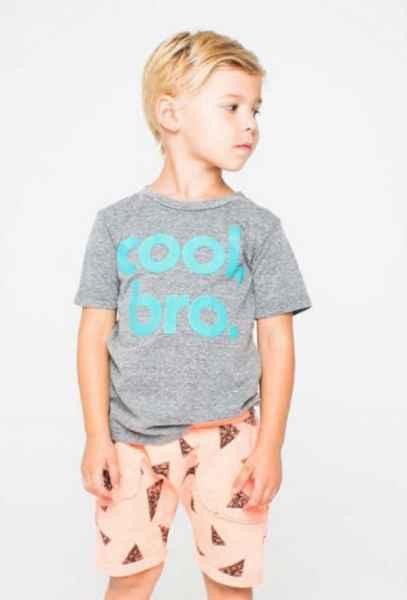 Cool Bro Short Sleeve Boys T Shirt (American Made)