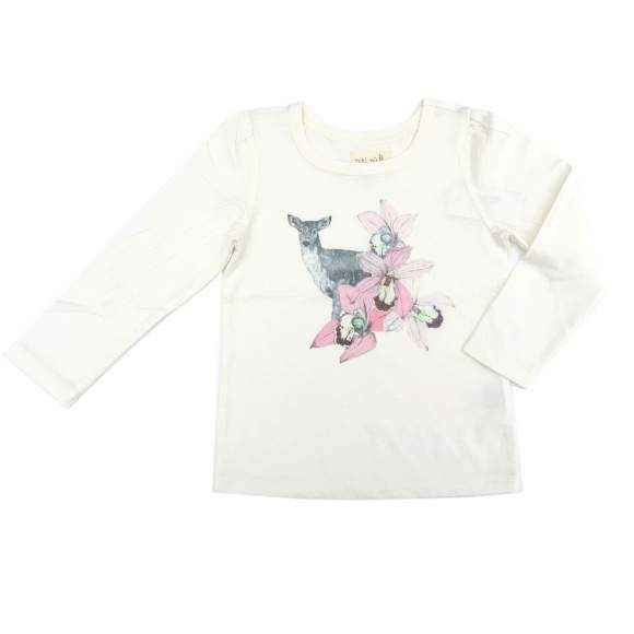 Fawn Long Sleeve Toddler Girls T Shirt