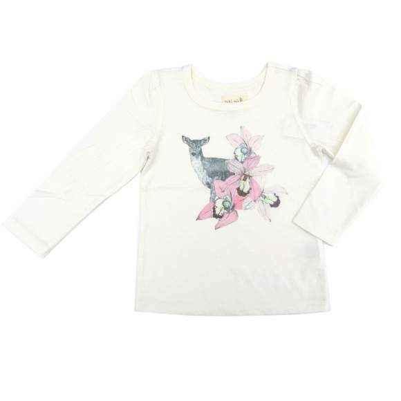 Fawn Long Sleeve Toddler Girls T Shirt