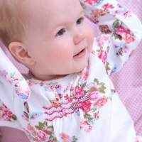 Sloan Cotton Romper and Sleeper for Baby Girls