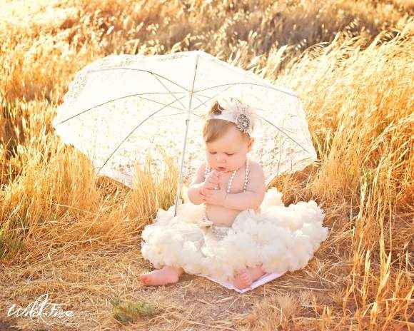 Cream Chiffon Baby Girl Boutique Pettiskirt