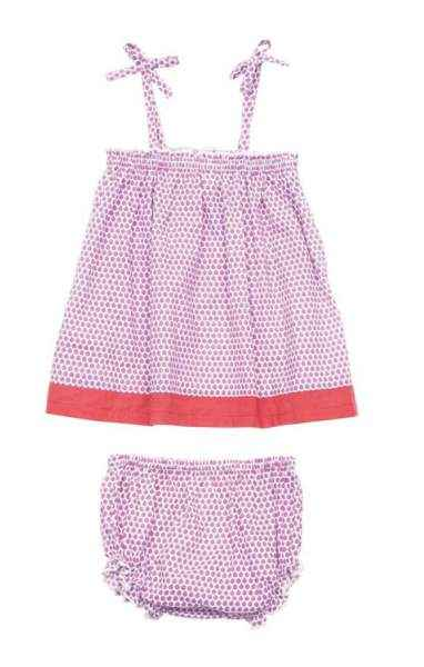 Lottie Blouse and Bloomers Baby Girl Two Piece Outfit Clothing Set