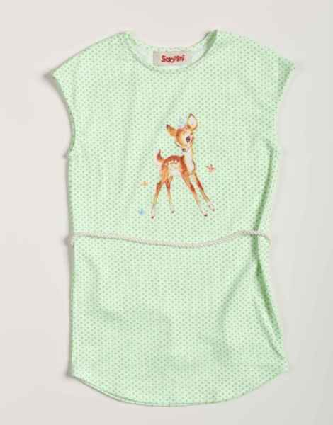 Bambi Sleeveless Little Girls Dress