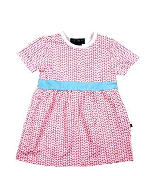 Pink Party Short Sleeve Baby & Toddler Girls Dress & Bloomer 2 Piece Outfit Set