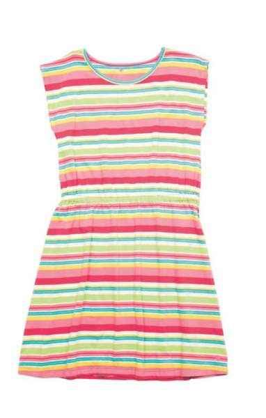 Striped Hadley Big Girls Dress
