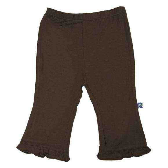 Bark Ruffle Baby Girl Super Soft Pants (Organic Bamboo)