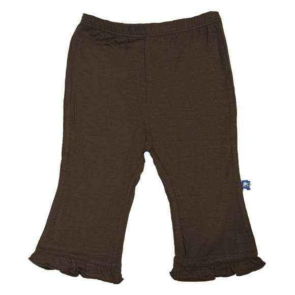 Bark Ruffle Baby Girl Pants (Organic Bamboo)
