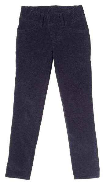 Black Baby and Little Girls Modern Corduroy Pants (American Made)