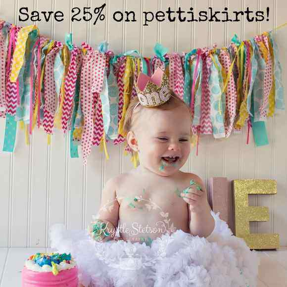 Save 25% on our fluffy chiffon girls boutique pettiskirts