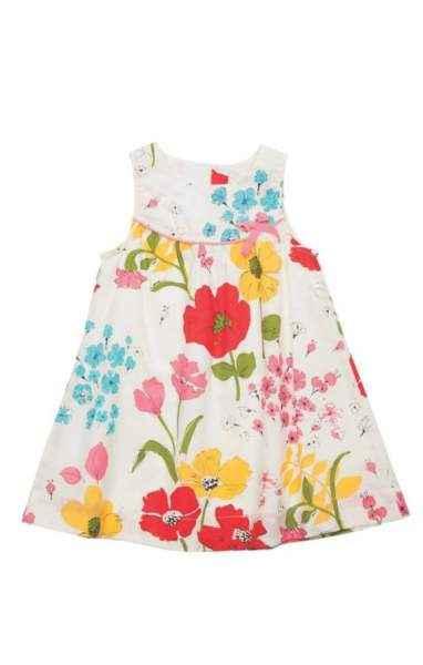 Marilyn Sleeveless Baby Girl Dress