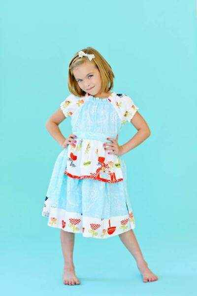 Opal Short Sleeve Baby Girl Dress