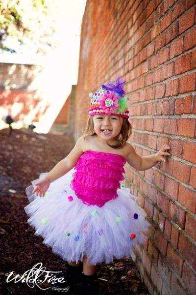 Pom Pom Tulle Baby and Girls Boutique Tutu (American Made)