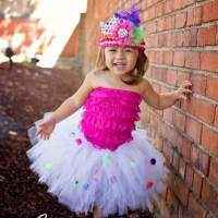 Pom Pom Tulle Baby & Girls Boutique Tutu (American Made)
