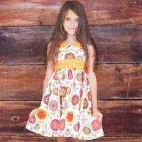 Fiorito Kelsea Unique Girls Boutique Dress