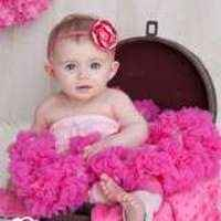 Pink & Raspberry Chiffon Girls Boutique Pettiskirt