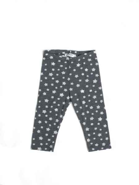 Gray Star Baby and Girls Short Summer Leggings (American Made)