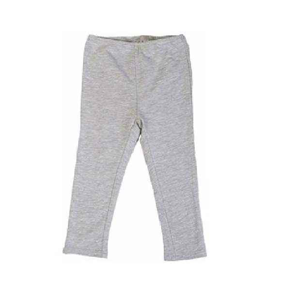 Gray Modal Little Girls Leggings
