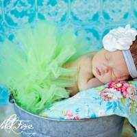 Sassy Green Tulle Baby & Toddler Girls Boutique Tutu