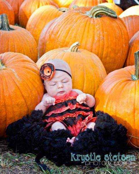 Halloween Baby & Girls Headband (American Made)