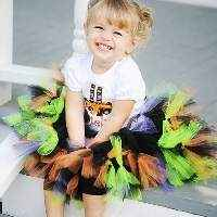 Halloween Witch Newborn, Baby, Toddler, and Girls Petti Tutu