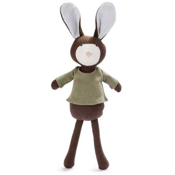 Lucas Rabbit Stuffed Animal Doll Toy (Organic Cotton)