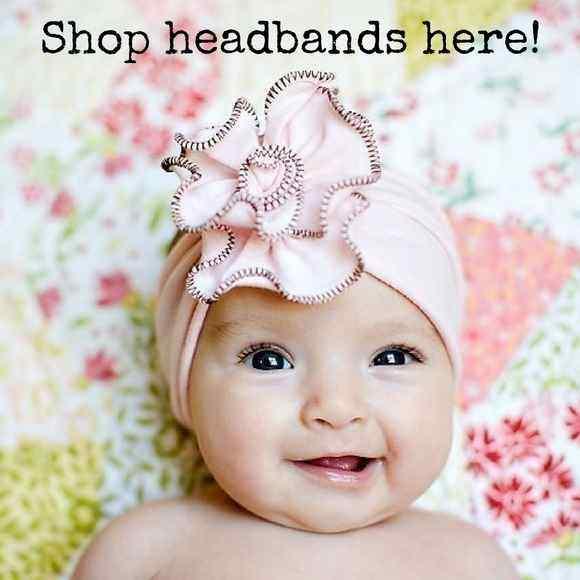 Shop Baby, Girl, and Teen Flower Headbands!